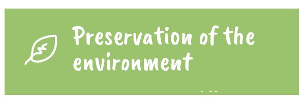 Préservation de l'environnement